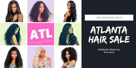 Atlanta's Biggest Hair Sale tickets