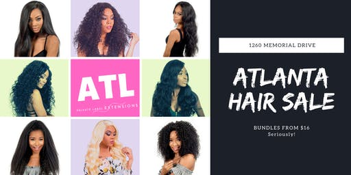 Atlanta's Biggest Hair Sale