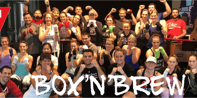 Box'n'Brew Pop Up Boxing Class with TITLE Boxing Club at Three Heads Brewing
