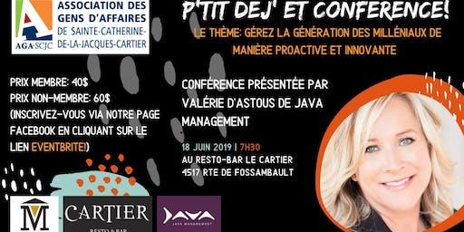 Conférence de Valérie D'Astous