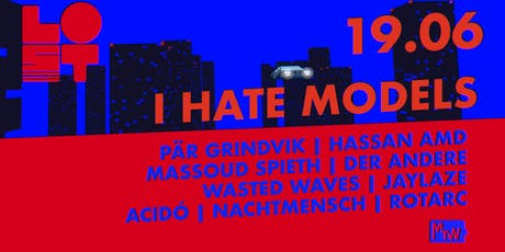 Lost with I Hate Models & Pär Grindvik  Tickets