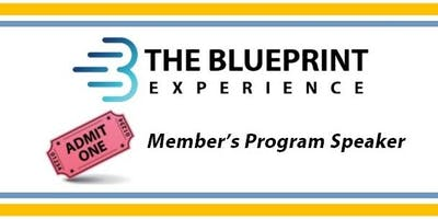 October Speaker at The Blueprint Experience