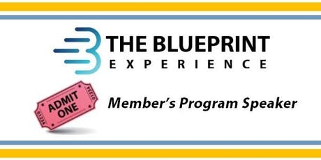 October Speaker at The Blueprint Experience tickets