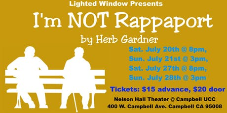 I'm Not Rappaport Play tickets