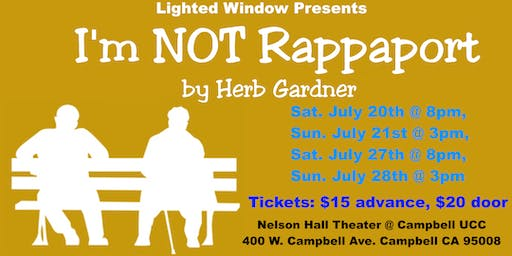 I'm Not Rappaport Play