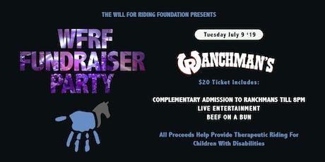 WFRFs 5th Annual Stampede Fundraiser tickets