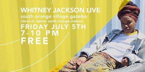 Jazz On Sloan Presents Whitney Jackson in Downtown After Sundown
