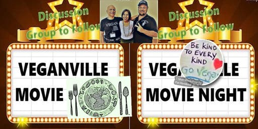 Try VeganvilleTV Free Movie Night Buffet, Tamarac 6.28.19