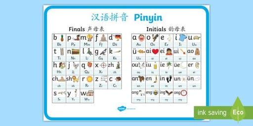 Chinese Pinyin Class for Adults! All Levels Welcomed !