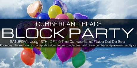 Cumberland Place Block Party 2019 tickets