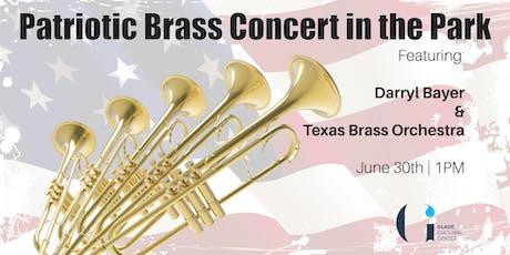 Patriotic Brass Concert in the Park tickets