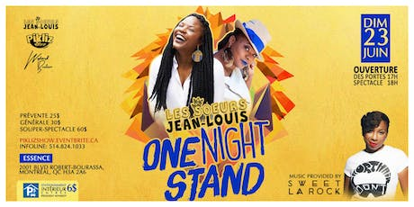 Les Soeurs Jean-Louis ONE NIGHT STAND tickets
