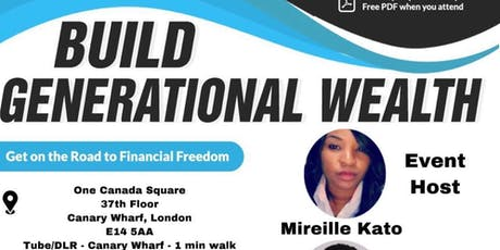 Build Generational Wealth tickets