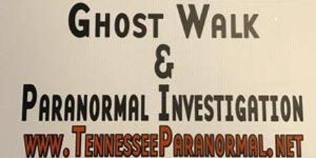 HHSP Walking Tour and Paranormal Investigation tickets