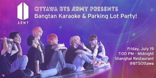 Bangtan Karaoke & Parking Lot Party