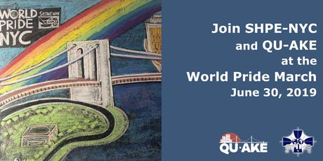 World Pride NYC March with SHPE-NYC & Qu-AKE tickets