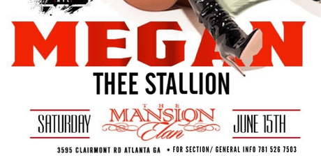 Megan The Stallion @ Mansion Elan (Birthday Bash After Party) VIP SECTIONS! tickets