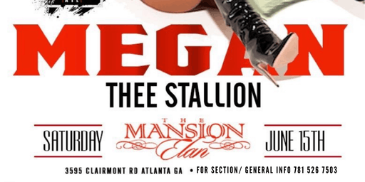 Megan The Stallion @ Mansion Elan (Birthday Bash After Party) VIP SECTIONS!