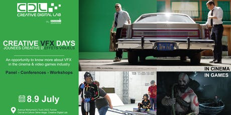 CREATIVE VFX DAYS | Panel - Conferences billets