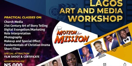 LAGOS ART AND MEDIA WORKSHOP tickets