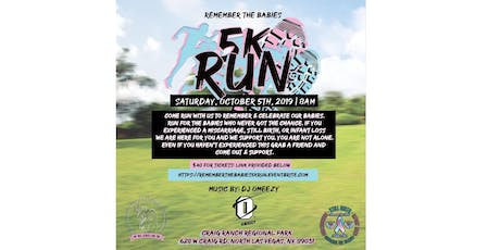 Remember The Babies 5k Run tickets