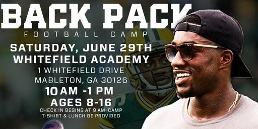 3rd Annual Back Pack Football Camp