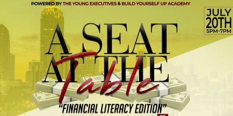 A Seat At The Table: Financial Literacy Edition tickets
