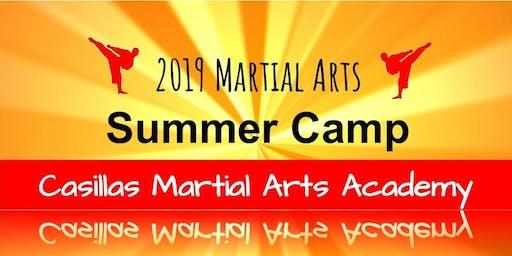 Casillas Martial Arts Academy Summer Camp