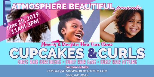 Cupcakes and Curls (Afro-Curly Hair Clinic)