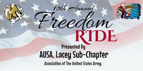 10th Anniversary Freedom Ride tickets
