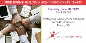 "Breakfast Buzz: ""Building high performing teams"""