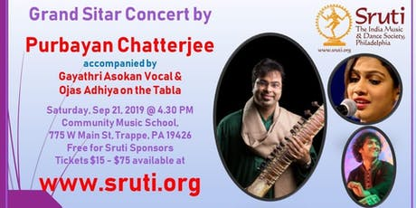 Grand Sitar Concert by Purbayan Chatterjee tickets