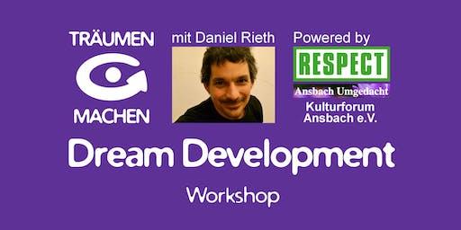 TRÄUMEN & MACHEN Workshop mit Daniel Rieth (Ansbach)