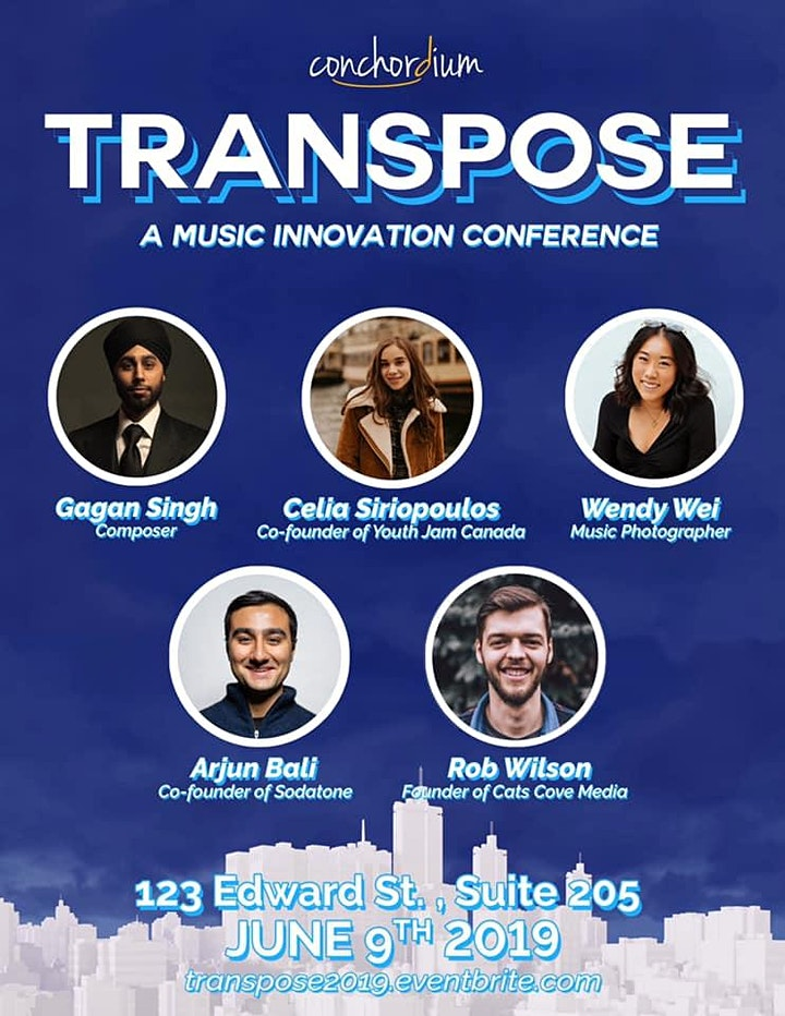 Transpose: A Music Innovation Conference image