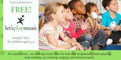 Let's Play Music Sample Class
