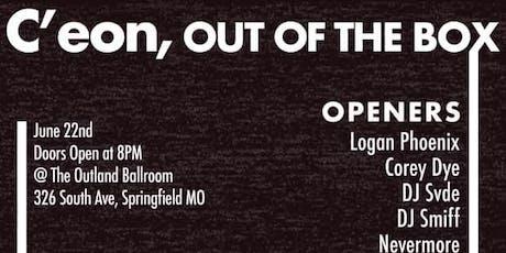 C'eon, Out The Box Ft. Corey Dye, Logan Phoenix, & more tickets