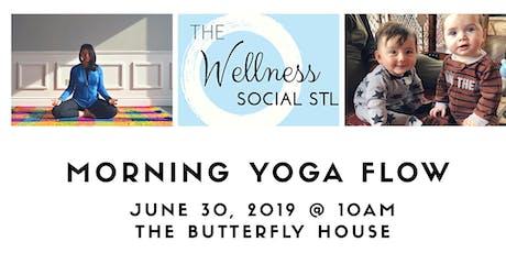 Yoga for women & moms + childcare for kids & babies @thewellnesssocialstl tickets