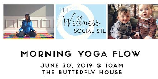 Yoga for women & moms + childcare for kids & babies @thewellnesssocialstl