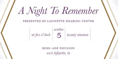 A Night to Remember - An Alzheimer's Benefit tickets