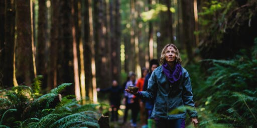 Forest Bathing and Ocean Play One Day Restorative Retreat