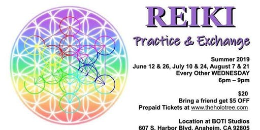 Reiki: Practice & Exchange