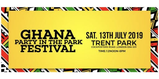 Ghana Party in the Park 2019