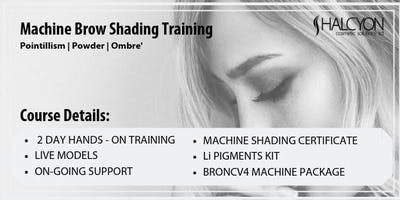 2 Day Machine Brow Shading Course - Vancouver