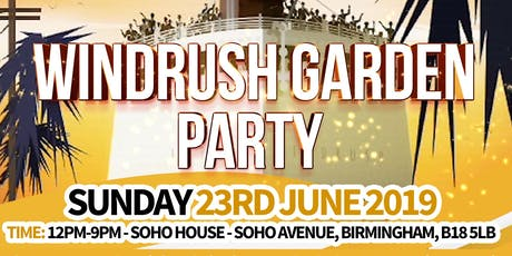 Windrush Garden Party at Soho House tickets