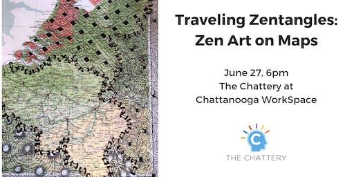 Traveling Zentangles: Zen Art on Maps