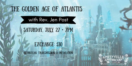 The Golden Age of Atlantis with Rev. Jen Post tickets
