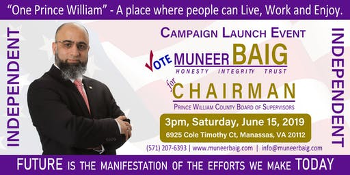 """One Prince William"" - Campaign Kick-off"