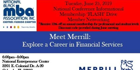 National Black MBA Chapter Meeting and Meet Merrill Career Informational tickets