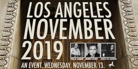 LOS ANGELES NOVEMBER 2019 tickets