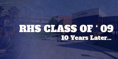 F. J. Reitz High School Class of 2009 | 10 Year Reunion tickets